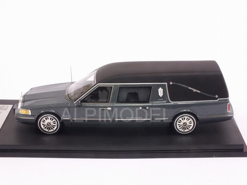 Lincoln Town Car Hearse 1997 (Grey Metallic) - glm-models