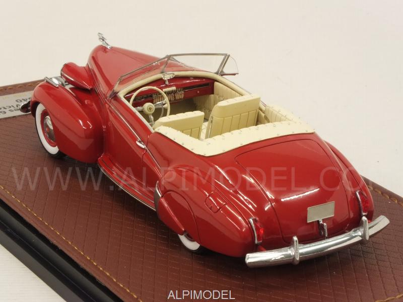 Cadillac Series 62 Convertible Victoria 1940 (Red) - glm-models