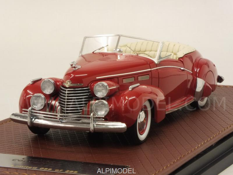 Cadillac Series 62 Convertible Victoria 1940 (Red) by glm-models