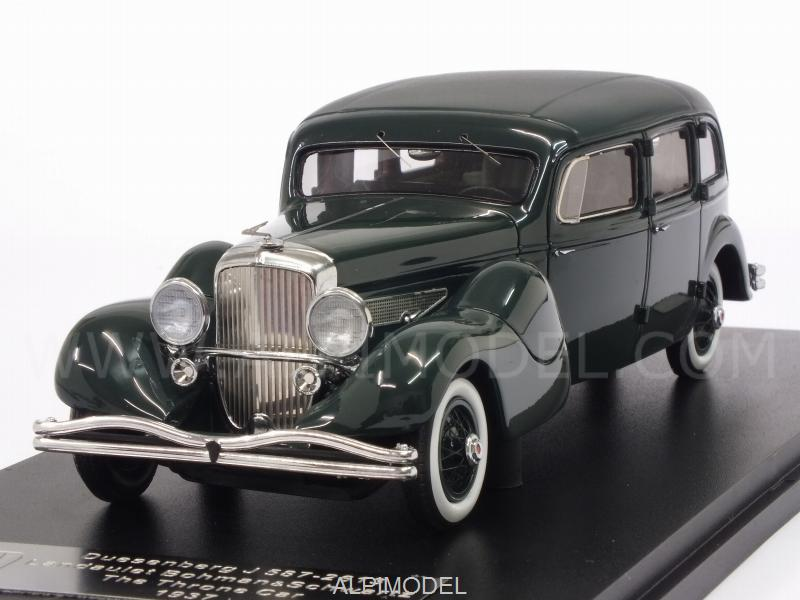 Duesenberg J 587-2613 Landaulette Bohman-Schwartz The Tron Car 1937 (Green) by glm-models