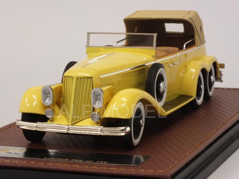 Hispano Suiza H6A Victoria Town Car 1923 six-wheels (Yellow) by glm-models
