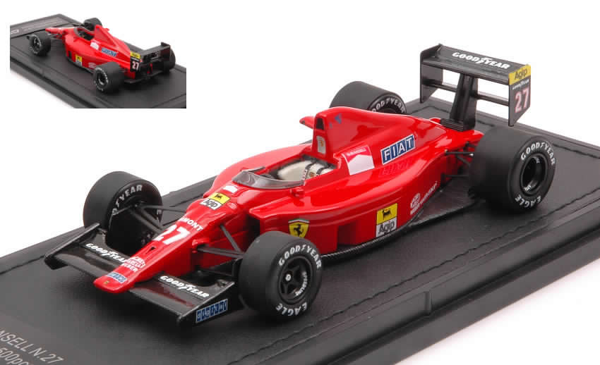 Ferrari F189 640 #27 1989 Nigel Mansell by gp-replicas