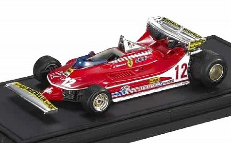 Ferrari 312 T4 #12 GP Monaco 1979 Gilles Villeneuve by gp-replicas