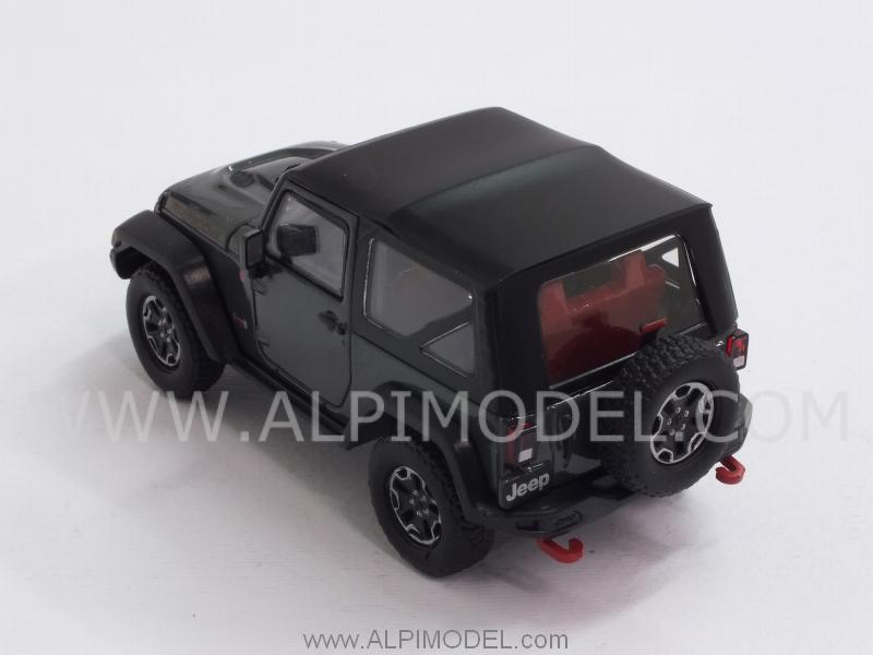 Jeep Wrangler Rubicon 2013 (Dark Green) - greenlight