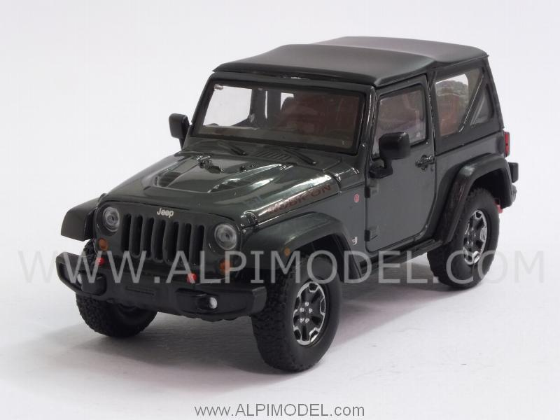 Jeep Wrangler Rubicon 2013 (Dark Green) by greenlight