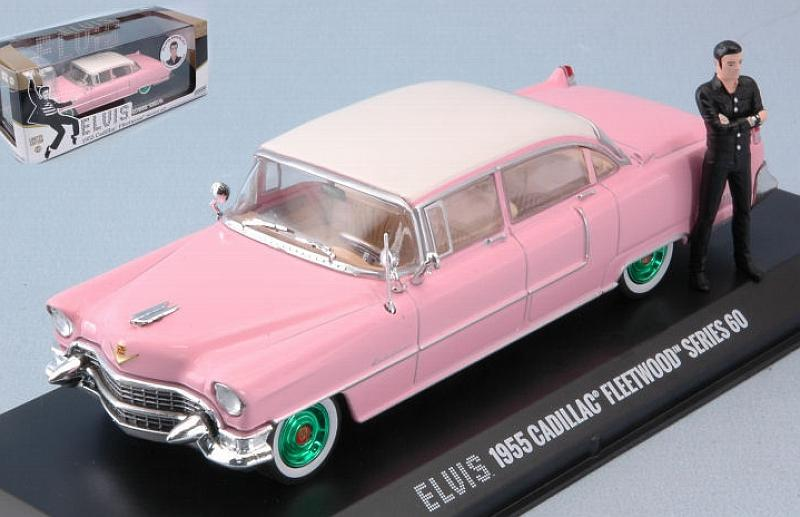 Cadillac Fleetwood 1955 Elvis Presley (with figurine) by greenlight