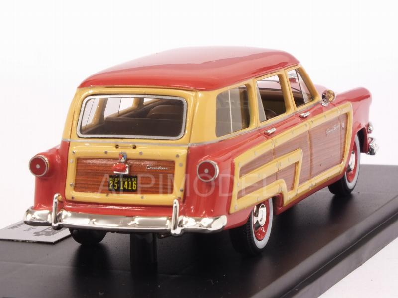 Ford Country Squire 1953 (Flamingo Red) - goldvarg