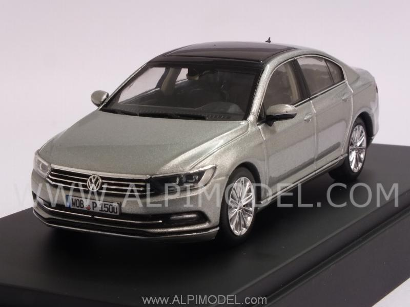 herpa volkswagen passat limousine 2014 silver vw promo 1 43 scale model. Black Bedroom Furniture Sets. Home Design Ideas