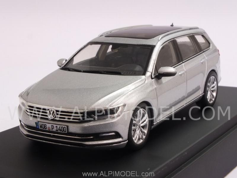 herpa 3g9099300aa7w volkswagen passat variant 2014 silver 1 43. Black Bedroom Furniture Sets. Home Design Ideas