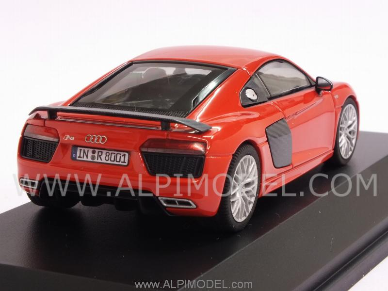 Audi R8 V10 Plus Coupe 2015 (Dynamite Red) Audi Promo - herpa
