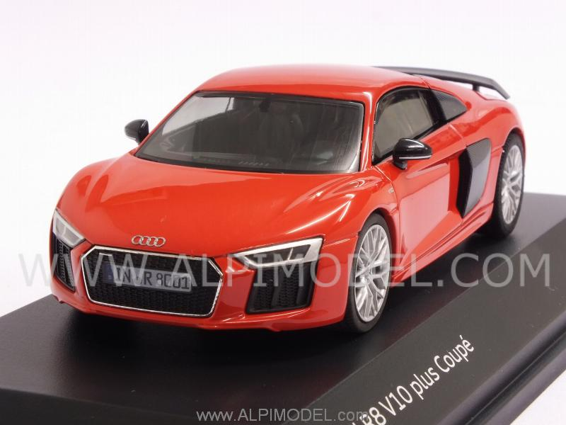 Audi R8 V10 Plus Coupe 2015 (Dynamite Red) Audi Promo by herpa