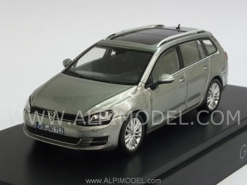 herpa Volkswagen Golf 7 Variant (Grey Metallic) VW promo (1/43 scale ...