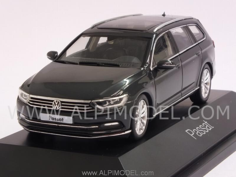 herpa volkswagen passat variant 2014 dark grey 1 43 scale model. Black Bedroom Furniture Sets. Home Design Ideas