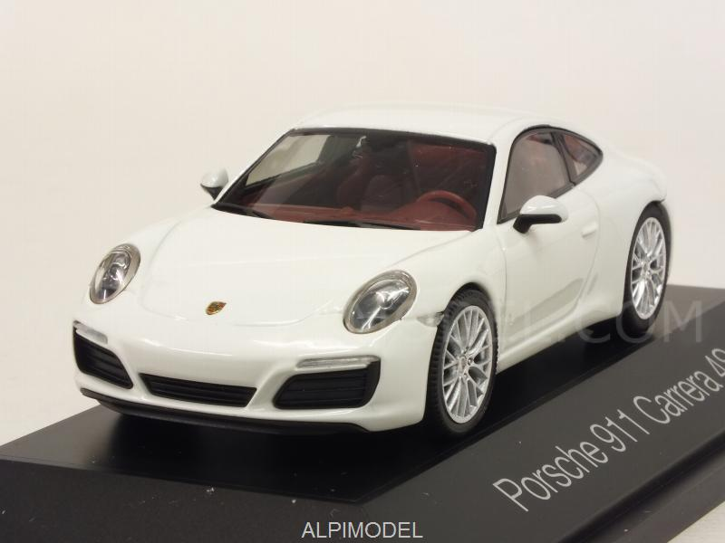 Porsche 911 Carrera 4S (White) by herpa