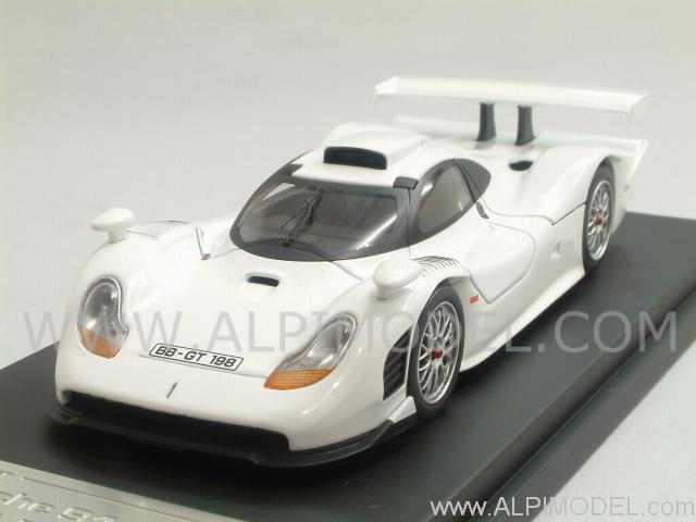 hpi racing porsche 911 gt1 1998 road car 1 43 scale model. Black Bedroom Furniture Sets. Home Design Ideas