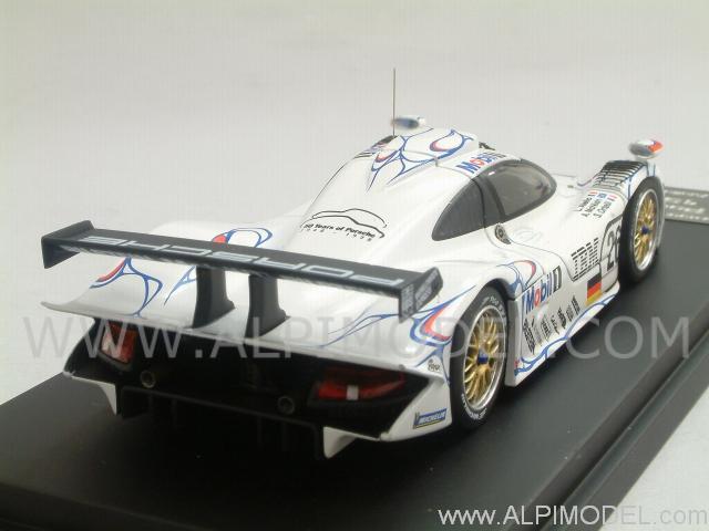hpi racing porsche 911 gt1 26 winner le mans 1998 aiello mcnish ortelli 1 43 scale model. Black Bedroom Furniture Sets. Home Design Ideas