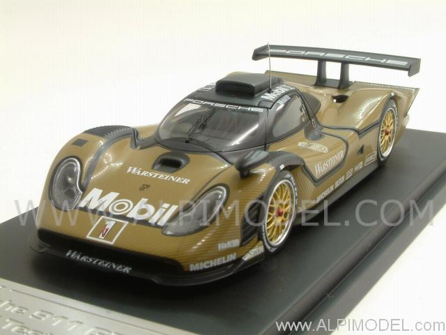 hpi racing porsche 911 gt1 le mans 1998 test car 1 43 scale model. Black Bedroom Furniture Sets. Home Design Ideas