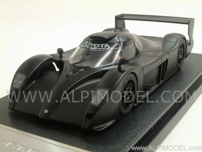 Toyota GT-ONE 1999 plain color black by hpi-racing