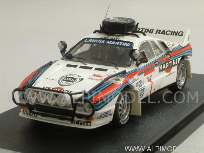 hpi-racing 8230 lancia 037 rally #7 rally safari 1984 alen