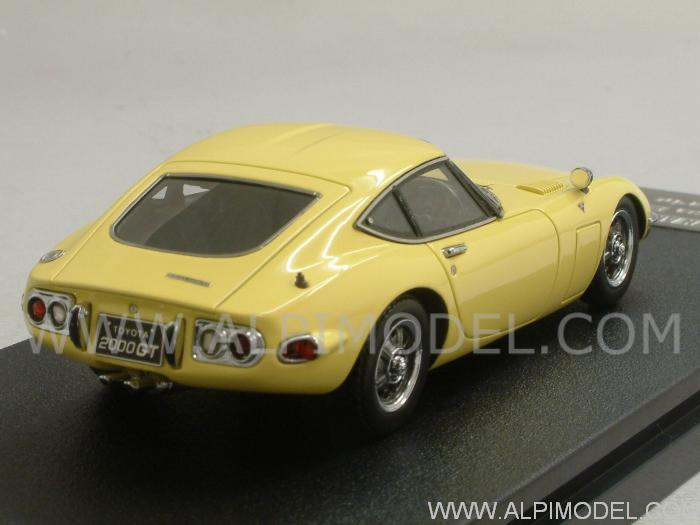 Toyota 2000 GT 1970 (Bellatrix Yellow) - hpi-racing