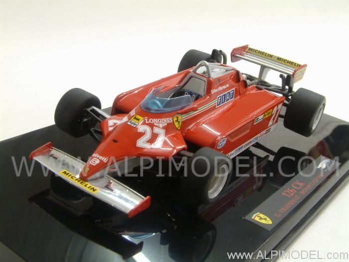 Ferrari 126 CK GP Monaco 1981 Gilles Villeneuve by hot-wheels