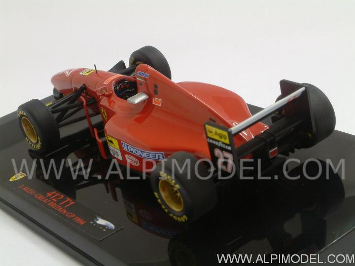 Ferrari 412T1 GP Great Britain 1994 Jean Alesi - hot-wheels