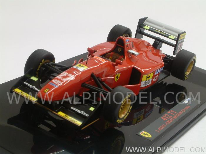 Ferrari 412T1 GP Great Britain 1994 Jean Alesi by hot-wheels