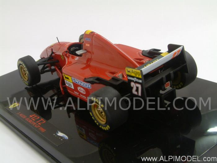 Ferrari 412 T2 GP Europa 1995 Jean Alesi - hot-wheels