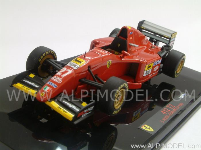 Ferrari 412 T2 GP Europa 1995 Jean Alesi by hot-wheels