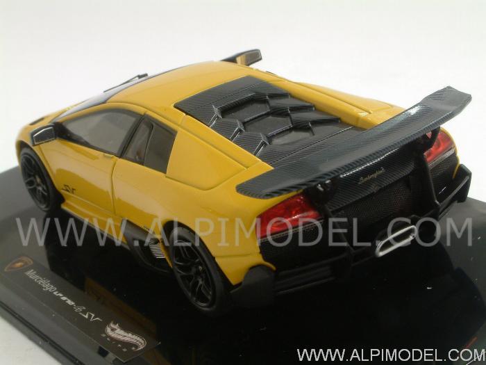 Hot Wheels T6934 Lamborghini Murcielago Lp670 4 Sv Yellow 1 43