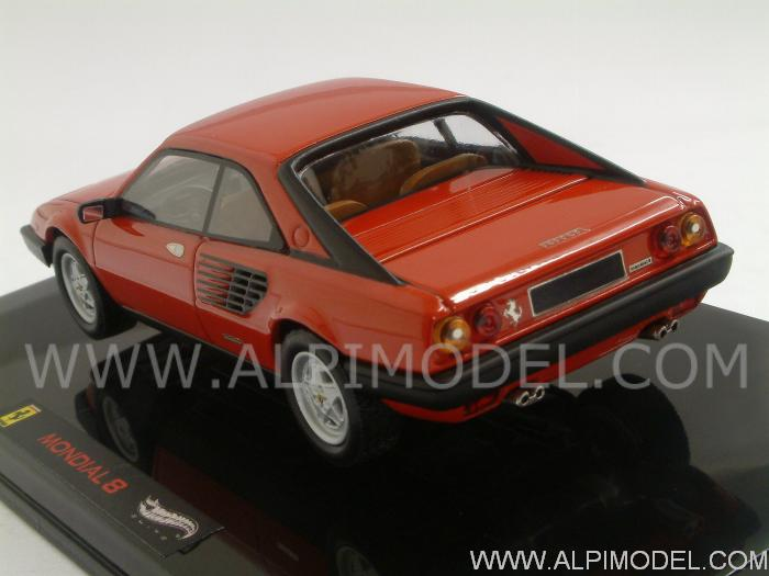hot wheels ferrari mondial 8 1980 red 1 43 scale model. Black Bedroom Furniture Sets. Home Design Ideas