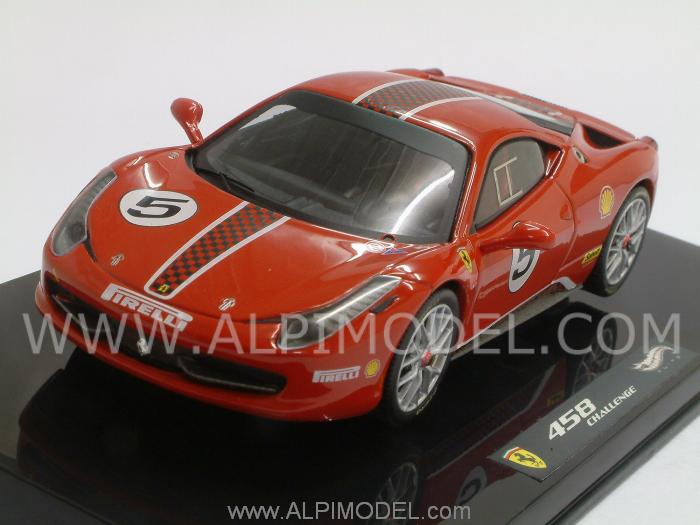 Ferrari 458 Italia Challenge (Red) by hot-wheels