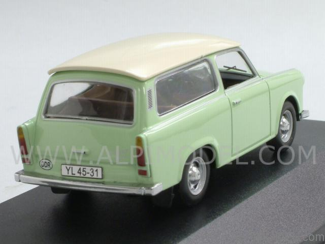 ist models ist015 trabant 601 kombi 1965 light green 1 43. Black Bedroom Furniture Sets. Home Design Ideas