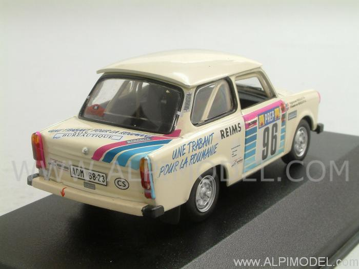 Trabant 601 #98 Rally Monte Carlo 1992 Fresquet - Fresquet - ist-models