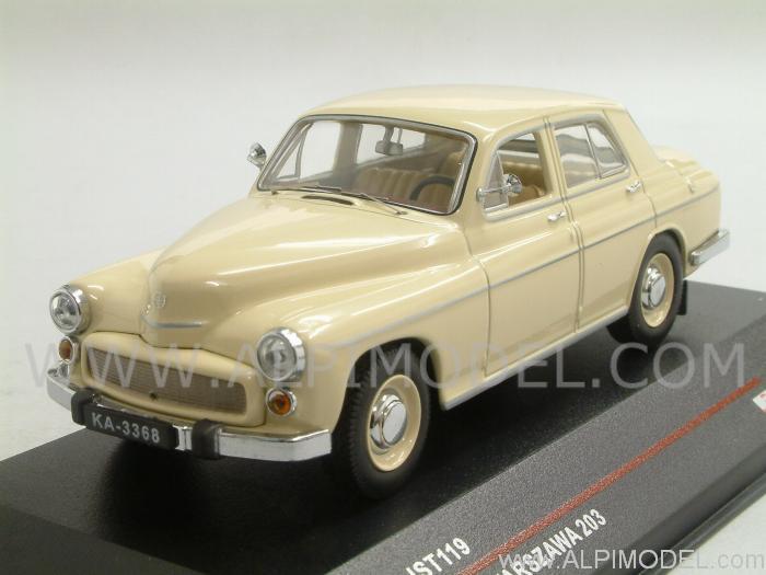 Warszawa 203 1964 (Beige) By Ist Models
