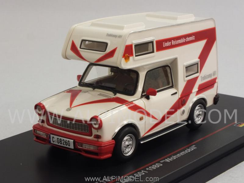 Trabant 601 Wohnmobil 1980 (White) by ist-models