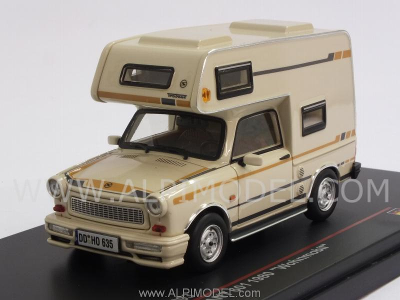 Trabant 601 Wohnmobil 1980 (Beige) by ist-models