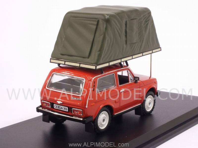 Lada Niva 1981 with tent on roof (Red) - ist-models