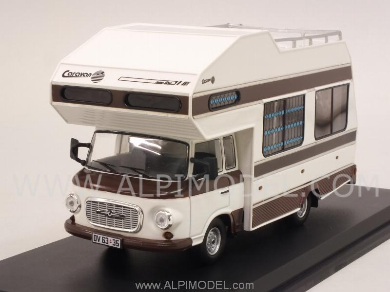 Barkas B1000 Wohnmobil 1973 (White) by ist-models