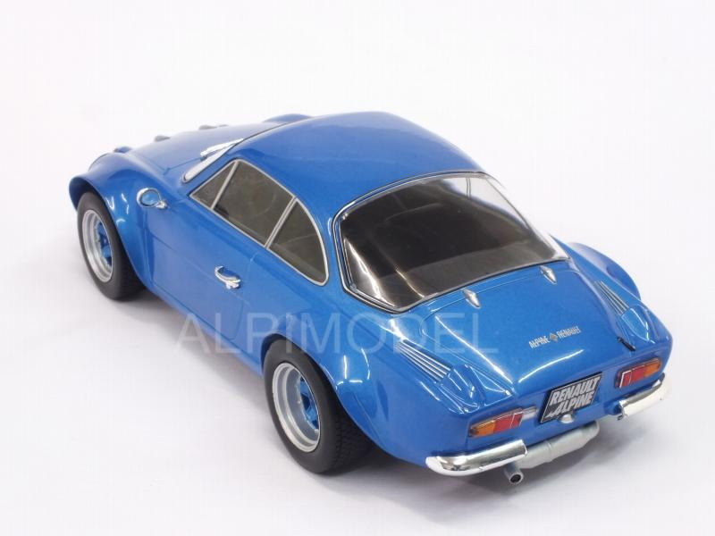 Alpine A110 Renault 1973 (Blue Metallic) - ixo-models