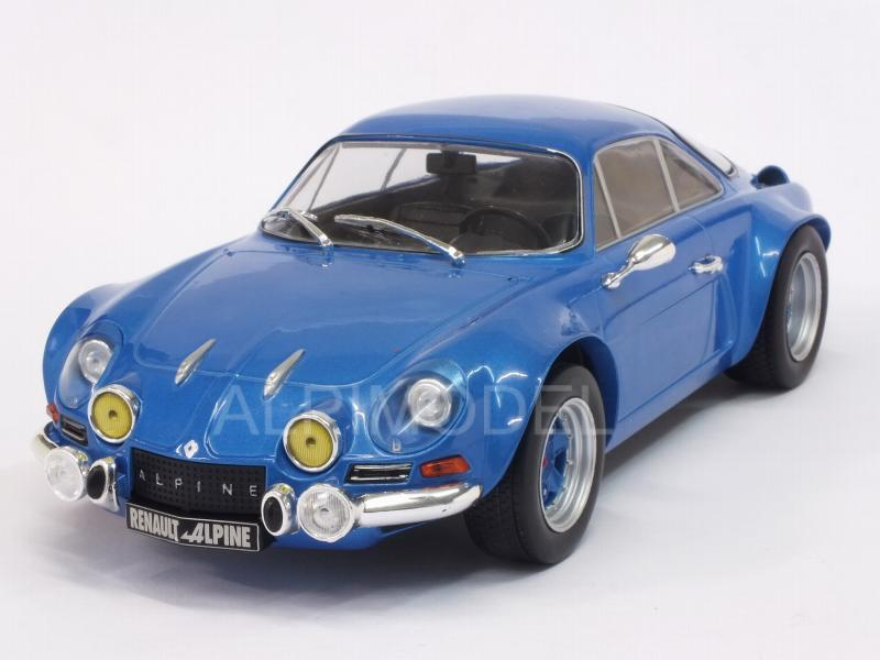 Alpine A110 Renault 1973 (Blue Metallic) by ixo-models