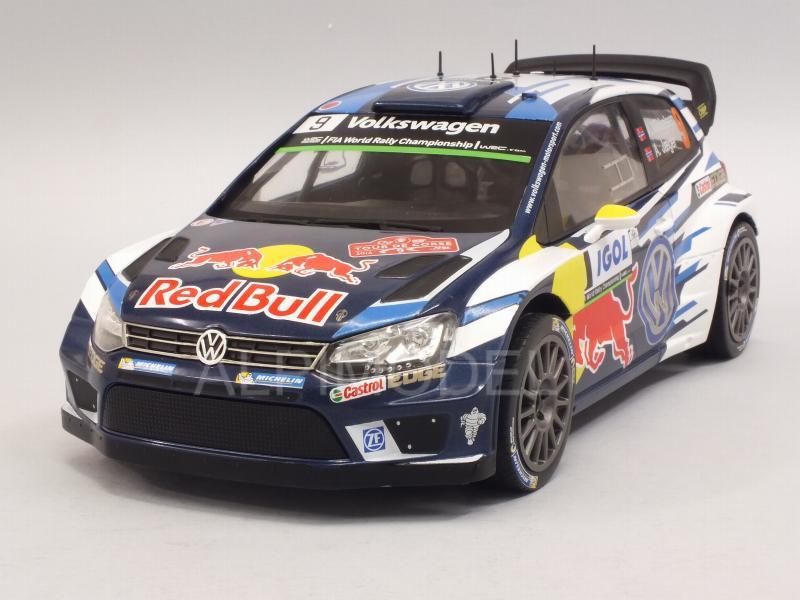 VW Polo R WRC  Jari-Matti Latvala  Rallye Tour de Corse 2016  1:18 IXO 18RMC018B