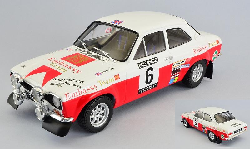 Ford Escort Mk1 RS1600 #6 RAC Rally 1971  Porter - Clark by ixo-models