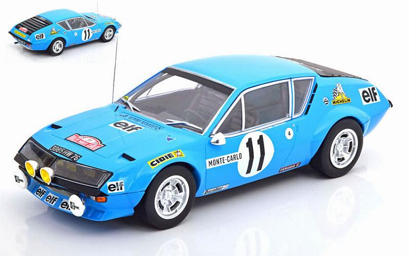 Alpine A310 Renault #11 Rally Monte Carlo 1975 Warmbold - Davenport by ixo-models
