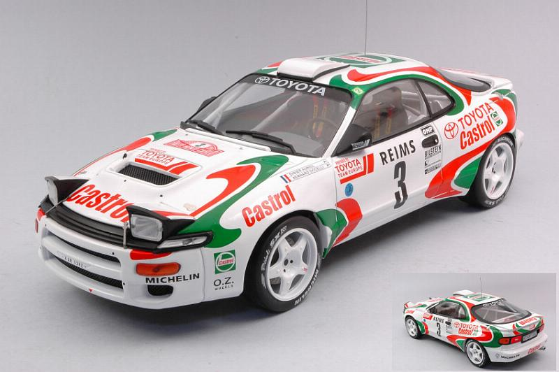 Toyota Celica GT-Four ST185 #3 Rally Monte Carlo by ixo-models