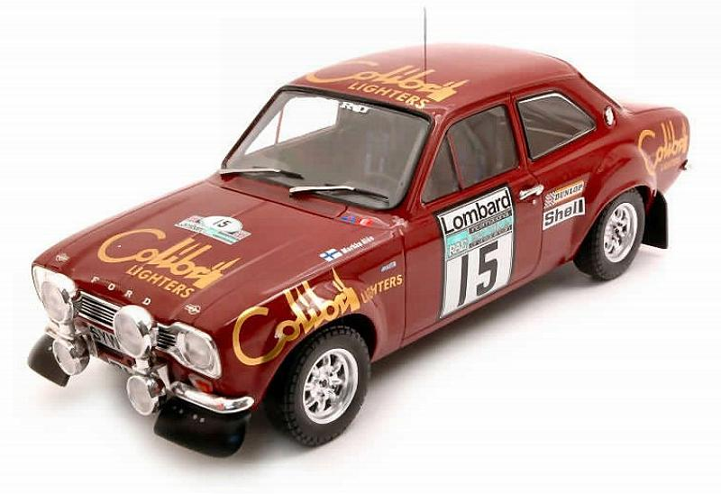 Ford Escort Mk1 RS1600 #15 RAC Rally 1974 Alen - White by ixo-models