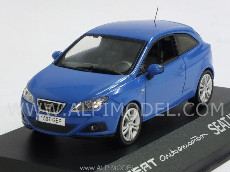 Seat Ibiza SC Coupe (Metallic Blue) by ixo-models