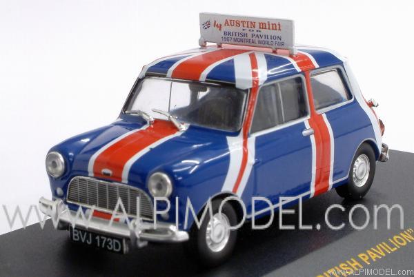 Austin Mini British Pavilion Montreal World Fair 1967 By Ixo Models
