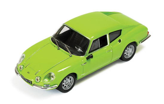 Simca CG 1300 Coupe 1973 (Green) by ixo-models