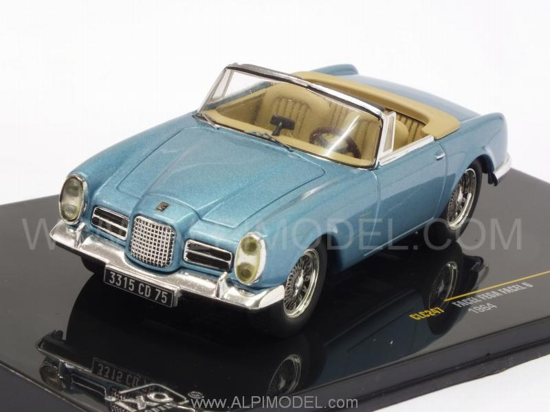 Facel Vega Facel 6 1964 (Metallic Light Blue) by ixo-models